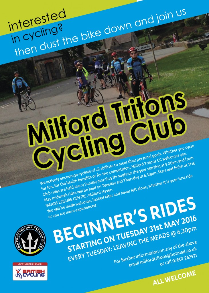 Tritons Beginners Rides